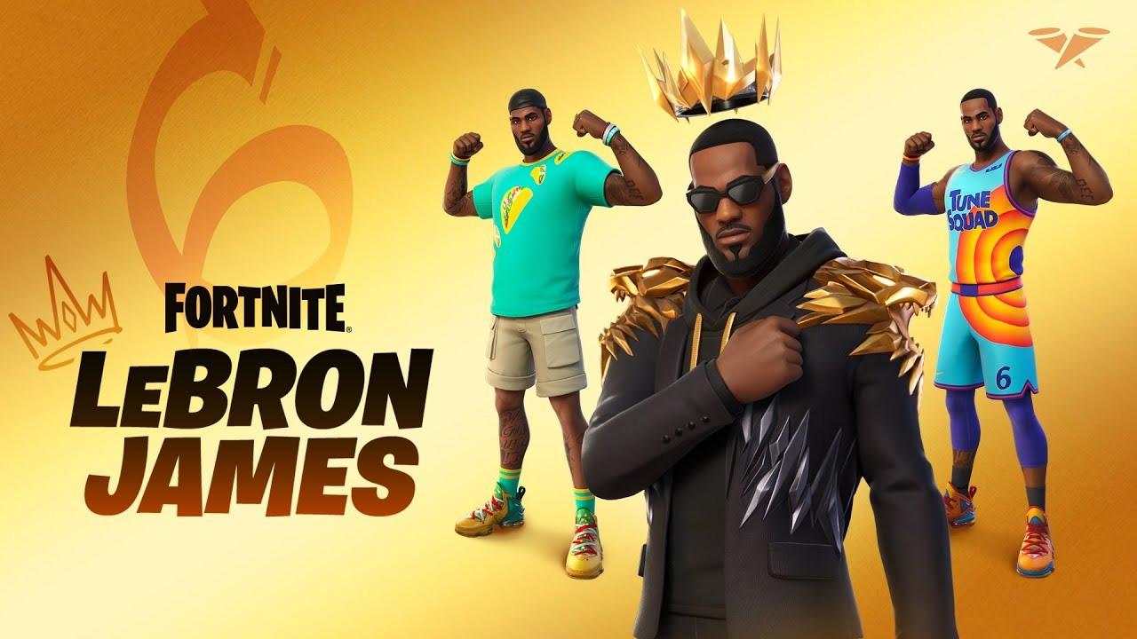 皇帝降臨!《要塞英雄》NBA 當家球星 LeBron James 登場 帶來全新服飾及簽名鞋款