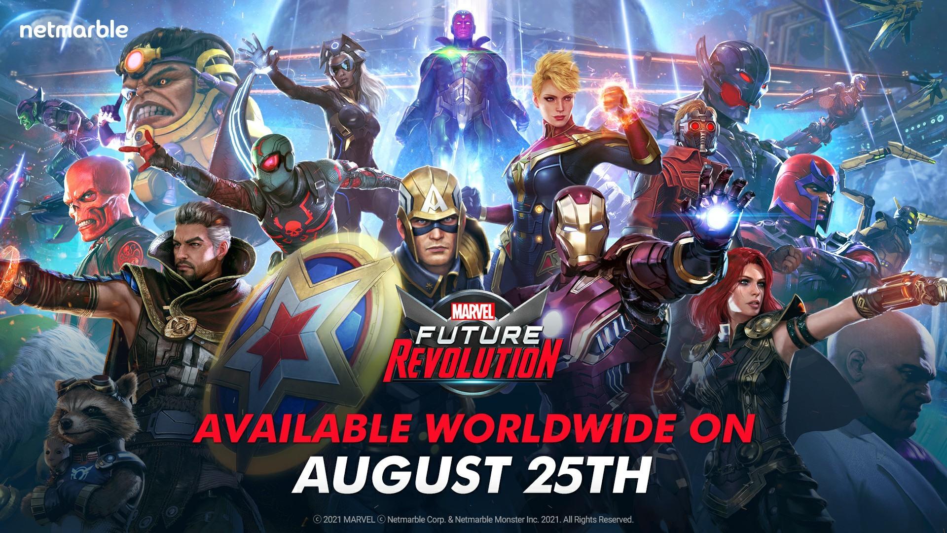 《MARVEL 未來革命》宣布將於 8 月全球上市 並肩作戰抵禦超級反派的襲擊